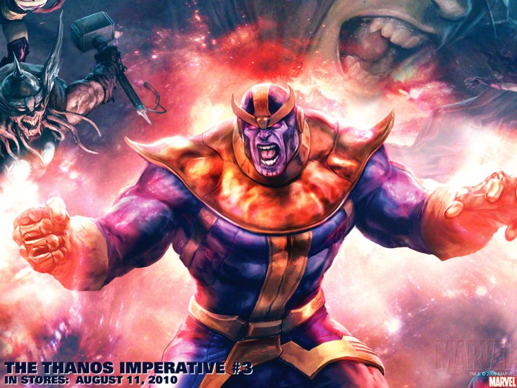 Wallpapers Comics Marvel Comics thanos