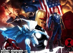 Wallpapers Comics secret avengers
