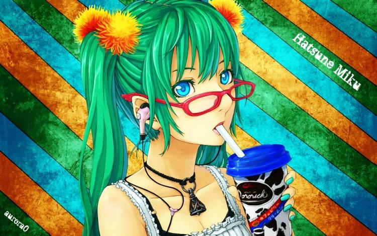 Fonds d'écran Manga Vocaloïds Hatsune Miku