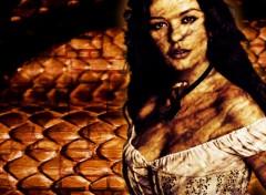 Fonds d'écran Art - Numérique kate snake's queen