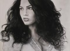 Wallpapers Art - Pencil Megan Fox 3