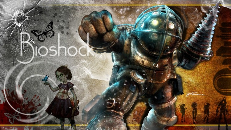 Wallpapers Video Games BioShock 1 and 2 Gentil Protecteur !