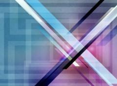 Fonds d'écran Art - Numérique The X
