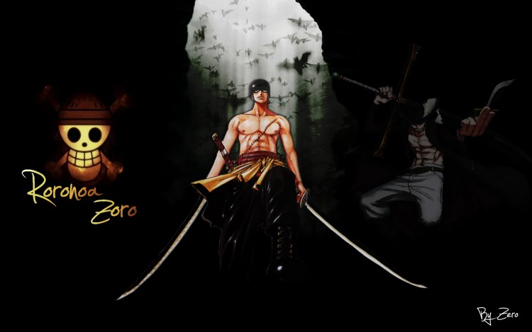 Wallpapers Manga Wallpapers One Piece Zoro By Polokiller