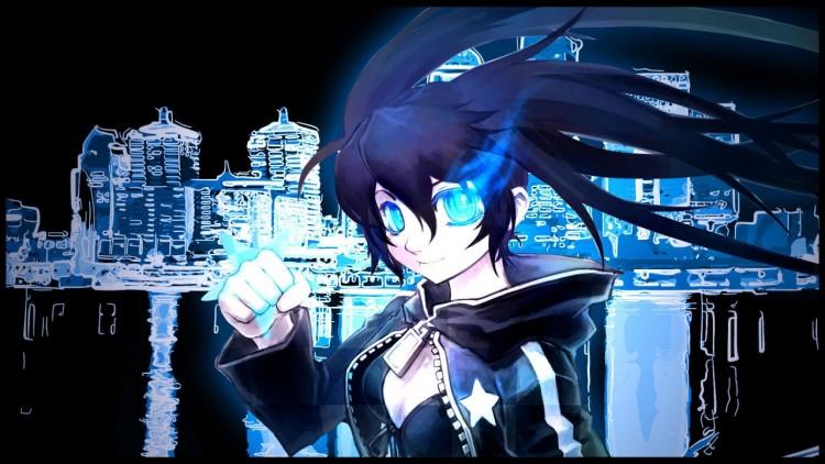 Fonds d'écran Art - Peinture Manga Blue night