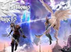 Fonds d'écran Jeux Vidéo Fallen Angels