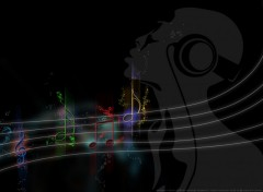 Wallpapers Digital Art I like music