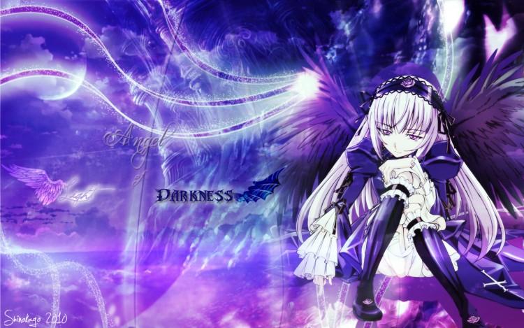 Wallpapers Manga Rozen Maiden Angel of Light, Angel of Darkness