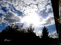 Wallpapers Nature Vue du ciel sur le pas de ma porte...