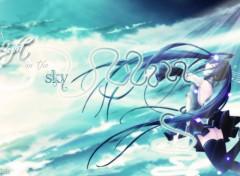 Fonds d'écran Manga A light in the Sky
