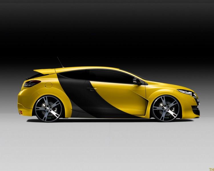 Fonds d'écran Voitures Renault Renault Megane GT by TH