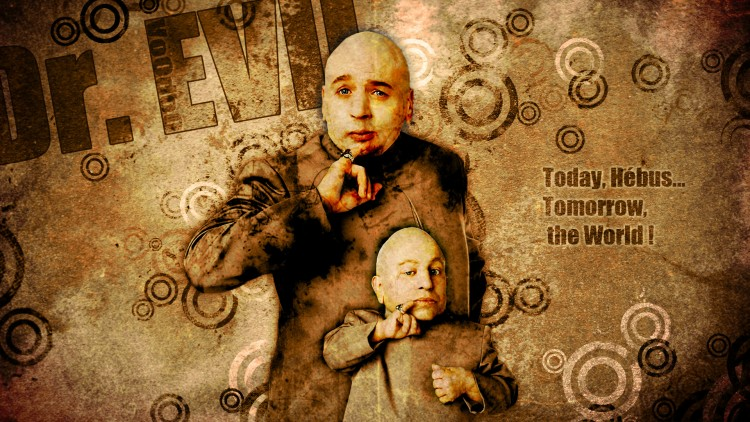 Wallpapers Movies Austin Powers Dr. Evil & Mini Me.
