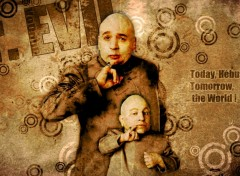 Wallpapers Movies Dr. Evil & Mini Me.