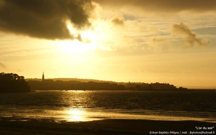 Wallpapers Trips : Europ France > Bretagne L'or du soir