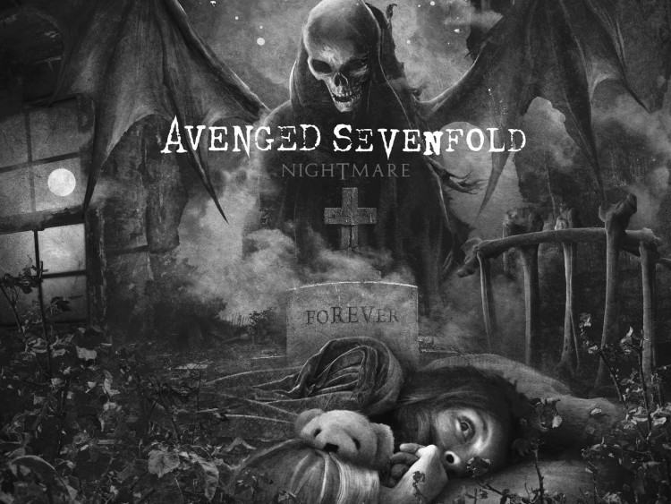 Wallpapers Music Avenged Sevenfold Avenged Sevenfold nightmare 2010