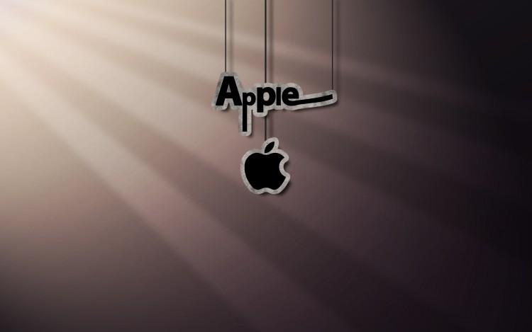 Fonds d'écran Informatique Apple shadow & light