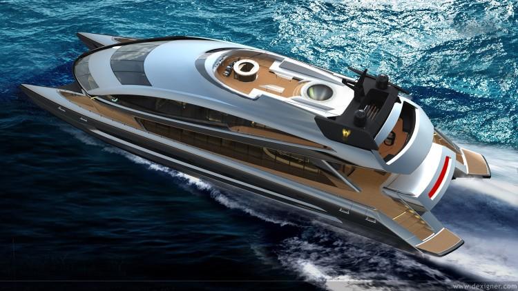 Fonds d'écran Bateaux Yachts porsche design rff135