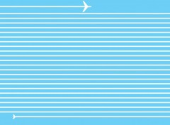 Fonds d'écran Art - Numérique Avion de ligne ou ligne d'avion?