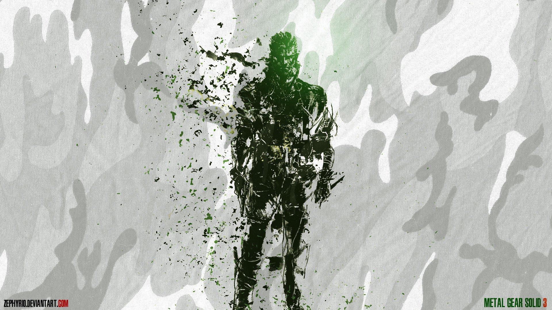 Fonds d'écran Jeux Vidéo Metal Gear Solid 3 Naked Snake