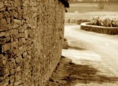 Fonds d'écran Constructions et architecture la bourgogne, ses pierres, ses champs de vignes ...