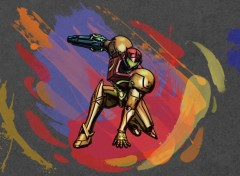 Wallpapers Video Games Samus's Attack Painting