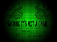 Wallpapers Computers Hacking its not a crime