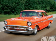 Wallpapers Cars chevrolet bel air (1957)