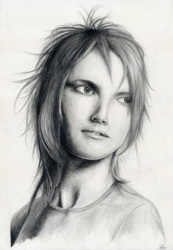 Fonds d'écran Art - Crayon Portraits Portrait...
