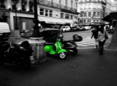 Fonds d'écran Motos Be Green