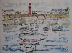 Fonds d'écran Art - Peinture Amérissage