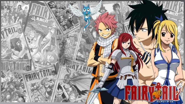 Fonds d'écran Manga Fairy Tail Fairy tail