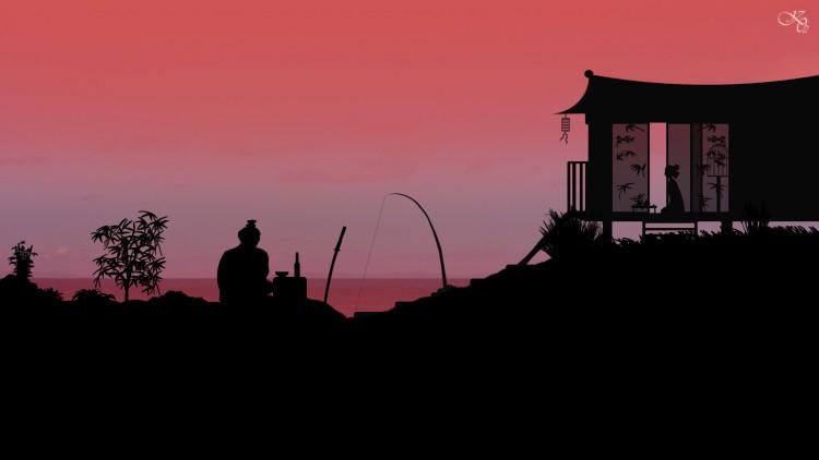 Wallpapers Digital Art Style Asian way of samurai