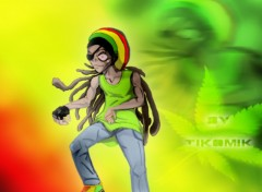 Wallpapers Art - Painting Rasta