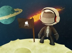 Wallpapers Video Games Sackboy On The Moon