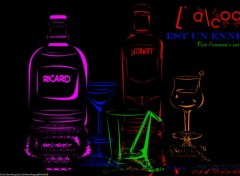 Wallpapers Objects  Alcool est un ennemi
