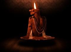 Fonds d'écran Art - Numérique candle woman