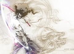 Fonds d'écran Manga Afro Samurai