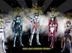 Fonds d'écran Manga Héritage des Chevaliers de Bronze