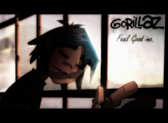 Fonds d'écran Musique gorillaz feel good inc.
