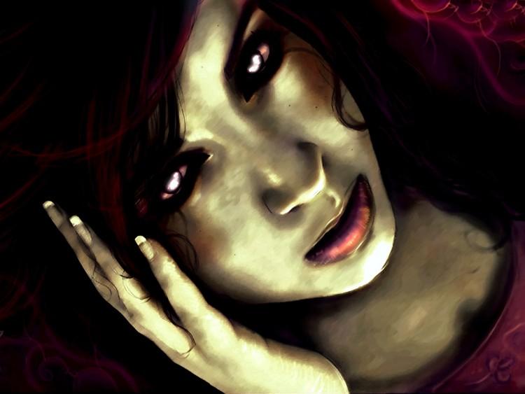 Fonds d'écran Art - Numérique Style Gothique Zombie Girl