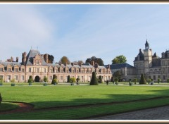 Wallpapers Constructions and architecture Chateau de Fontainebleau