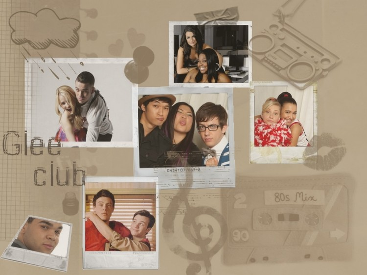 Wallpapers TV Soaps Glee Glee club