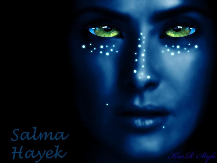 Wallpapers Celebrities Women Salma Hayek Salma Hayek en  avatar