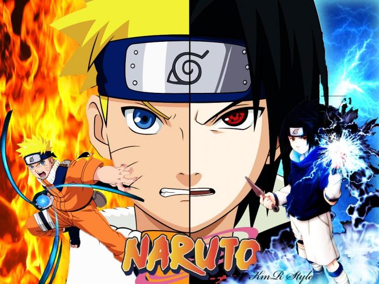 Fonds D écran Manga Fonds D écran Naruto Naruto Vs Sasuke