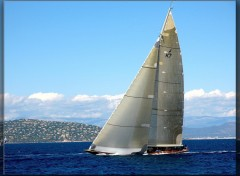 Wallpapers Boats Voiles de Saint Tropez