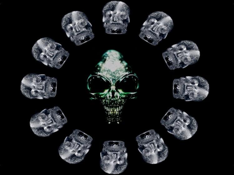 Fonds d'écran Cinéma Indiana Jones et le Royaume du Crâne de Cristal Crâne De Cristal