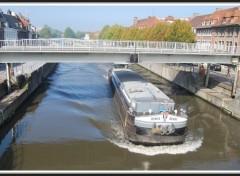 Wallpapers Constructions and architecture Tournai (Belgique) - Le Pont mobile
