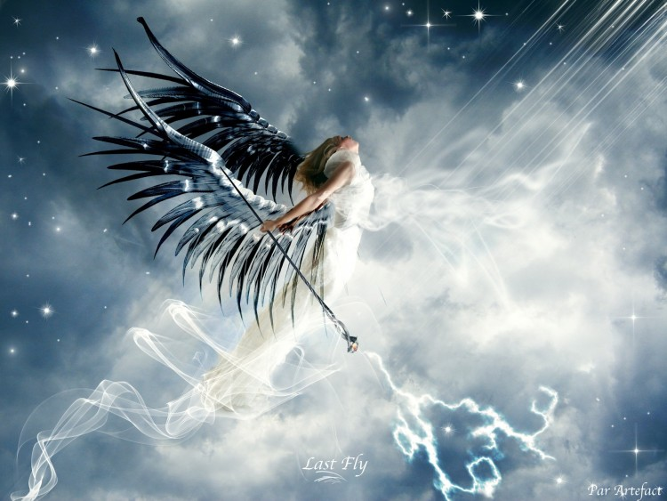 Wallpapers Fantasy and Science Fiction Angels Last Fly