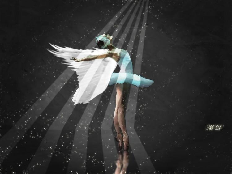 Wallpapers Fantasy and Science Fiction Angels danseuse féerique...