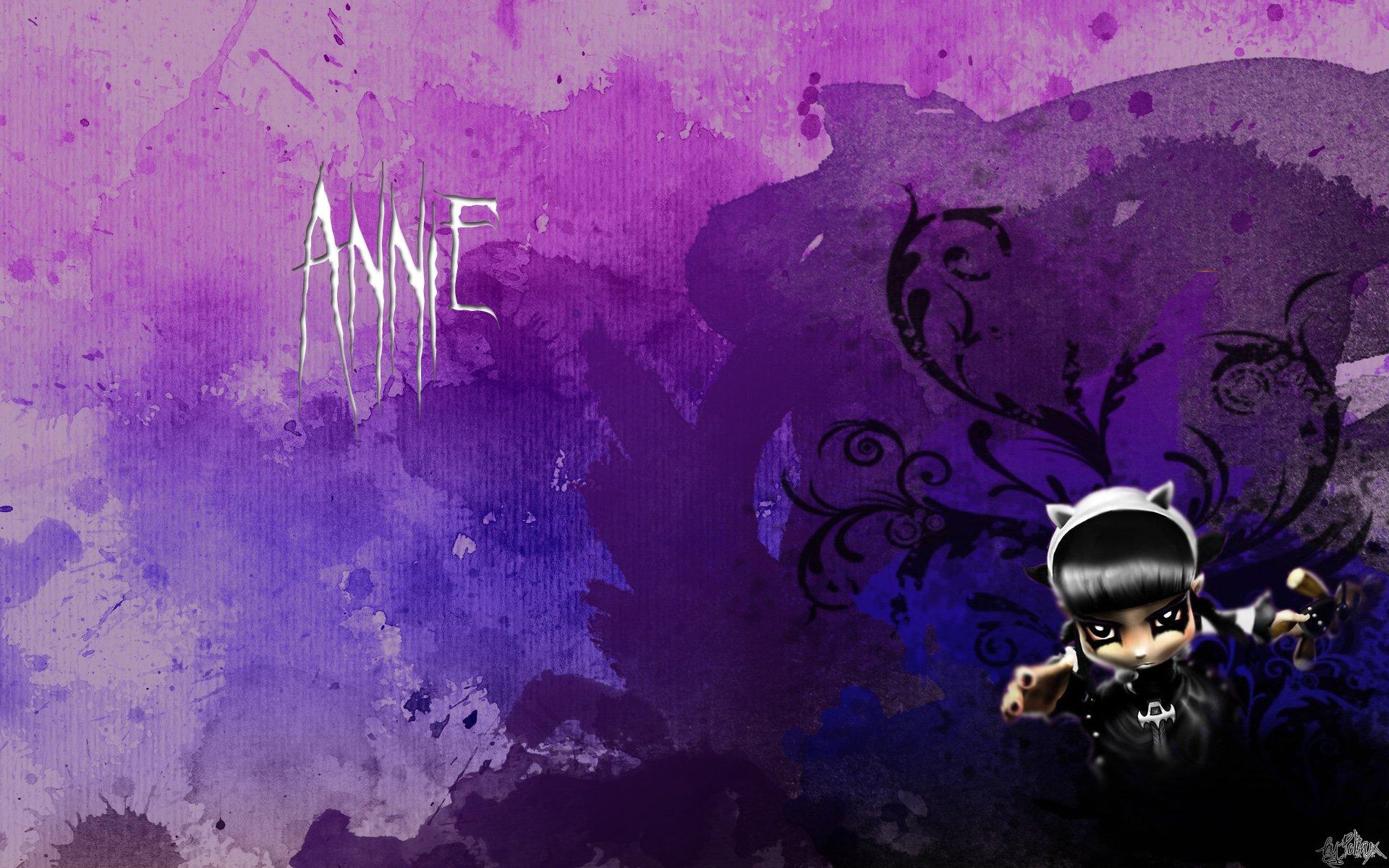 Fonds d'écran Jeux Vidéo League of Legends - Clash of Fates Annie